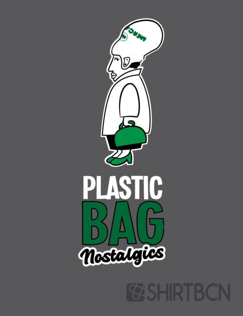 samarreta plastic bag nostalgics