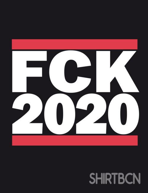 estampació de samarretes - samarreta fuck 2020