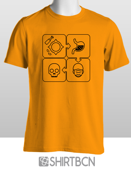 estampació de samarretes personalitzades - samarreta allioli