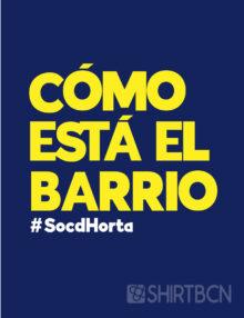estampació de samarretes barcelona - samarreta como esta el barrio