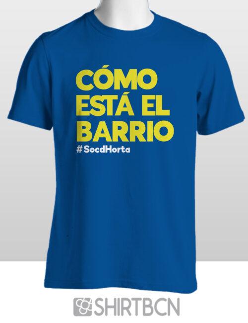estampació de samarretes personalitzades - samarreta como esta el barrio